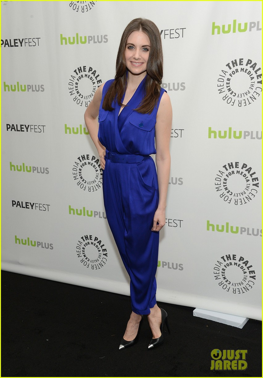 joel mchale alison brie paleyfest with community cast 02