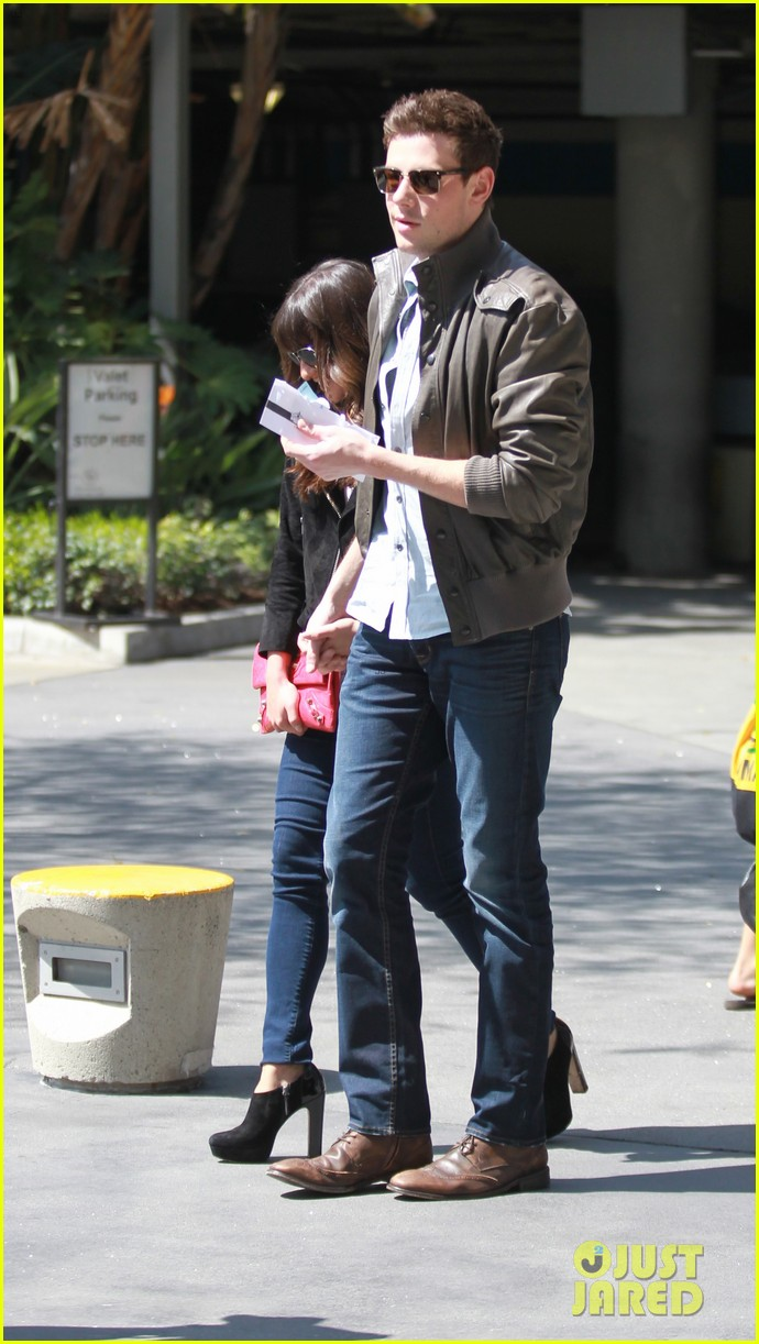 lea michele cory monteith kings game couple 072836373