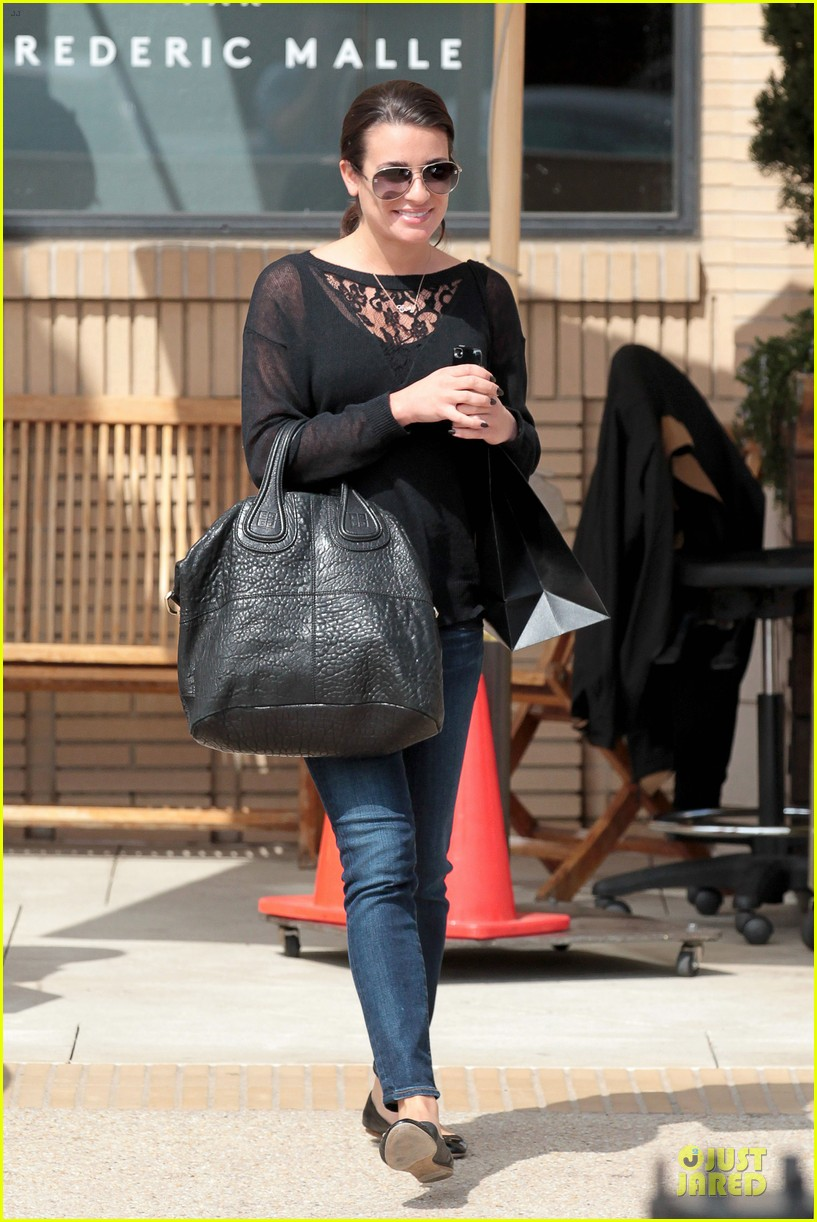 lea michele cory monteith necklace wearing gal 032834174