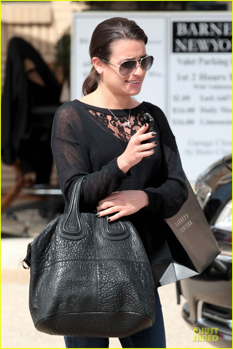 lea michele cory monteith necklace wearing gal 042834175