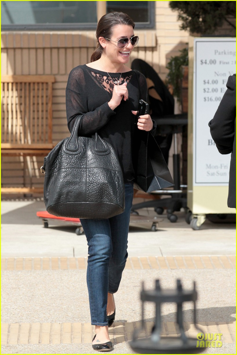 lea michele cory monteith necklace wearing gal 052834176