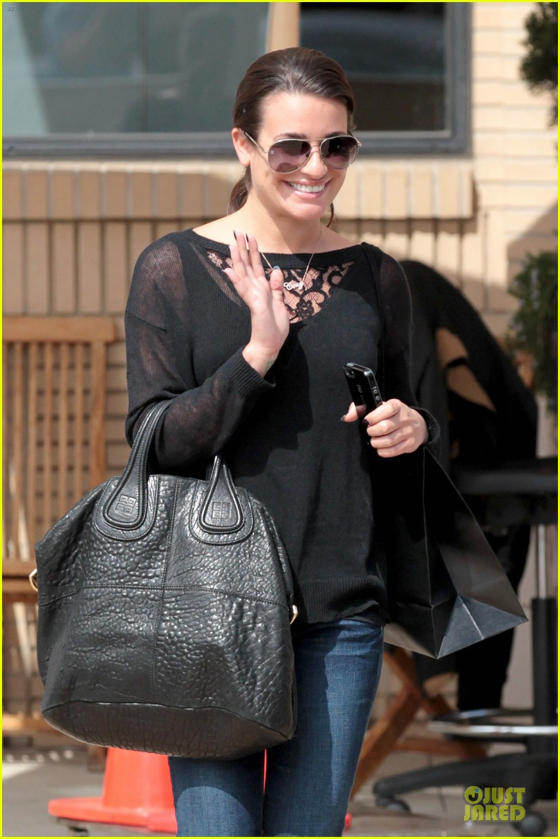 lea michele cory monteith necklace wearing gal 062834177