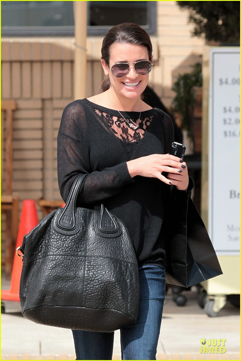 lea michele cory monteith necklace wearing gal 07