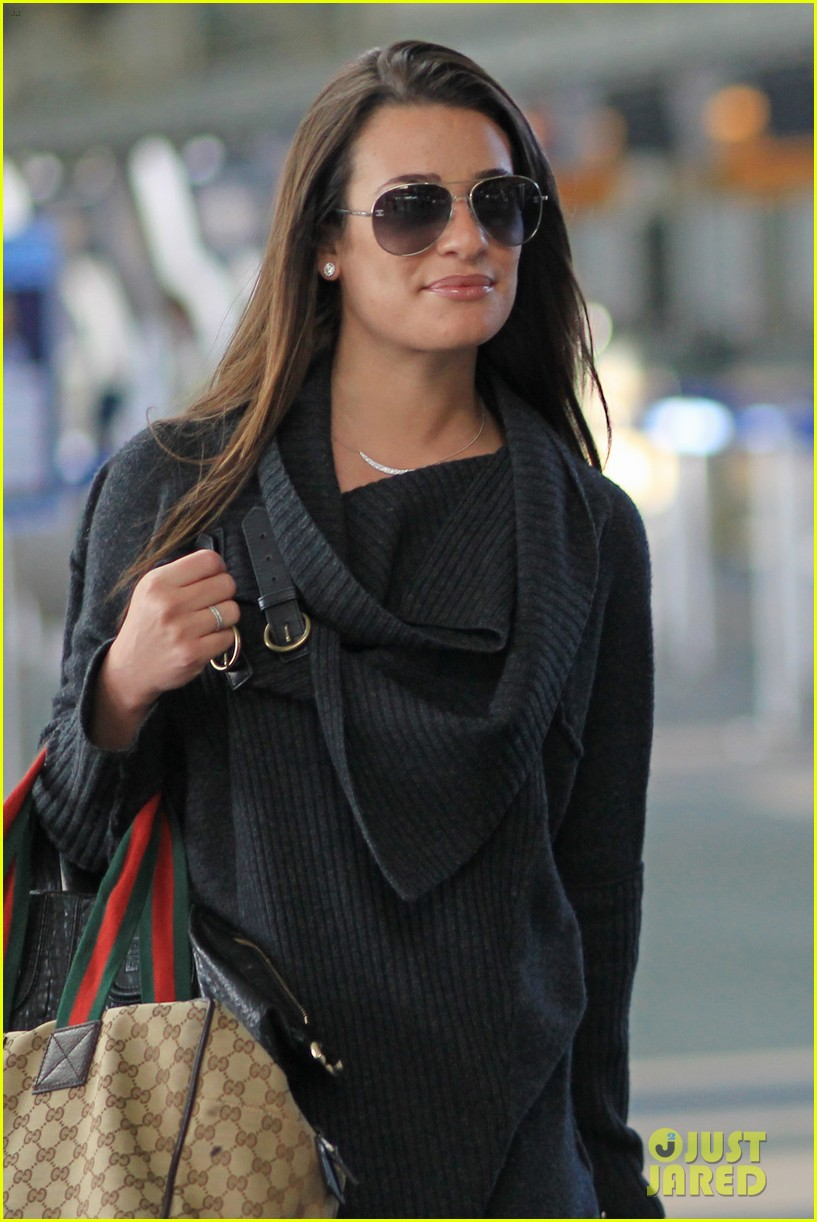 lea michele cory monteith from vancouver to l a 052833306