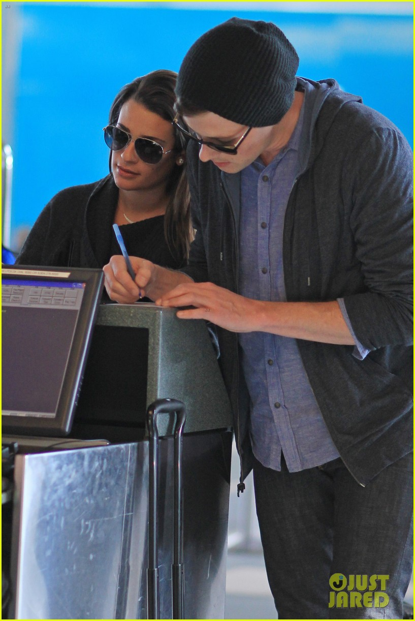 lea michele cory monteith from vancouver to l a 072833308