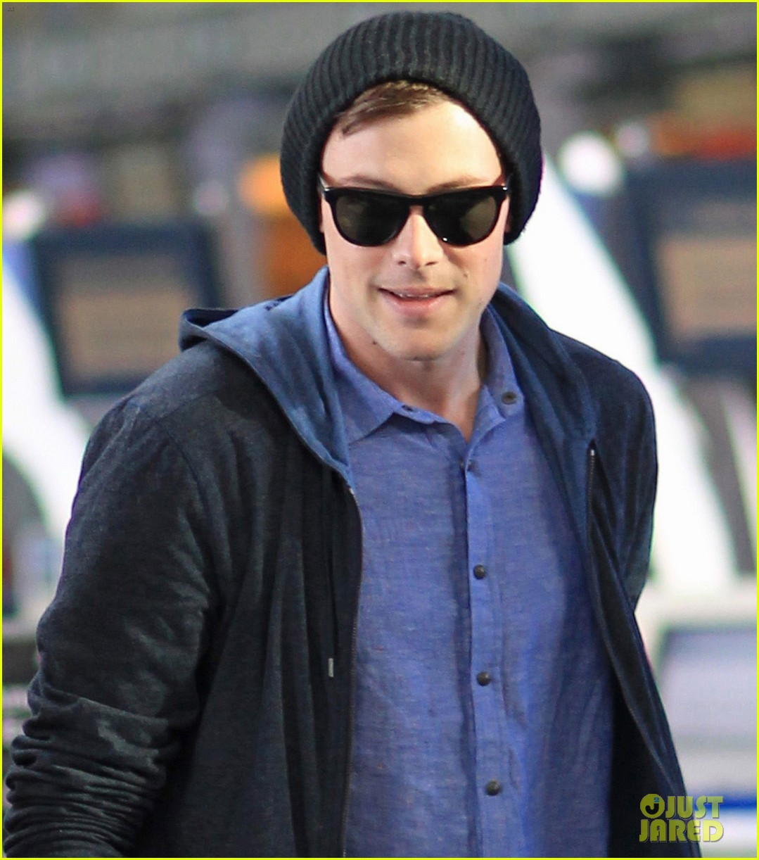 lea michele cory monteith from vancouver to l a 102833311