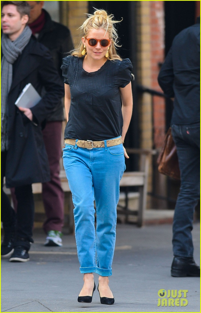 sienna miller cafe cluny lunch 032839173