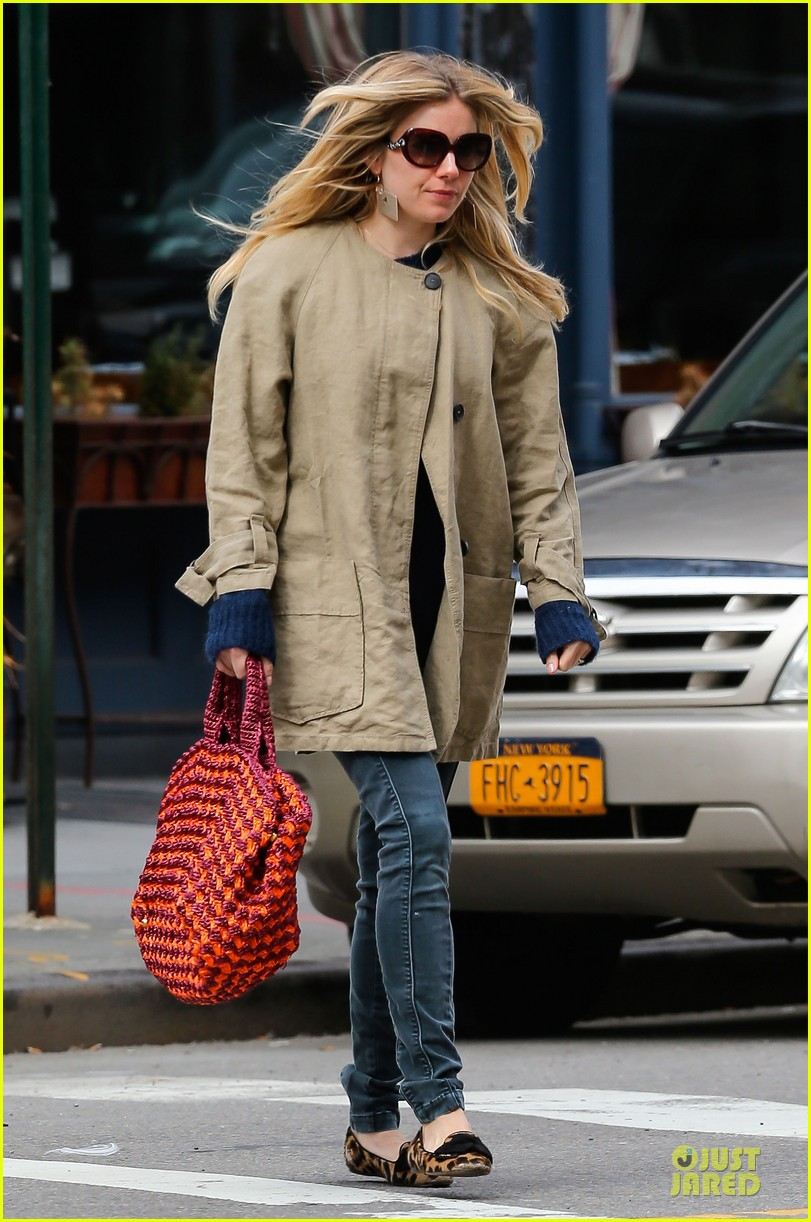 sienna miller leopard print stroll without marlowe 092830646