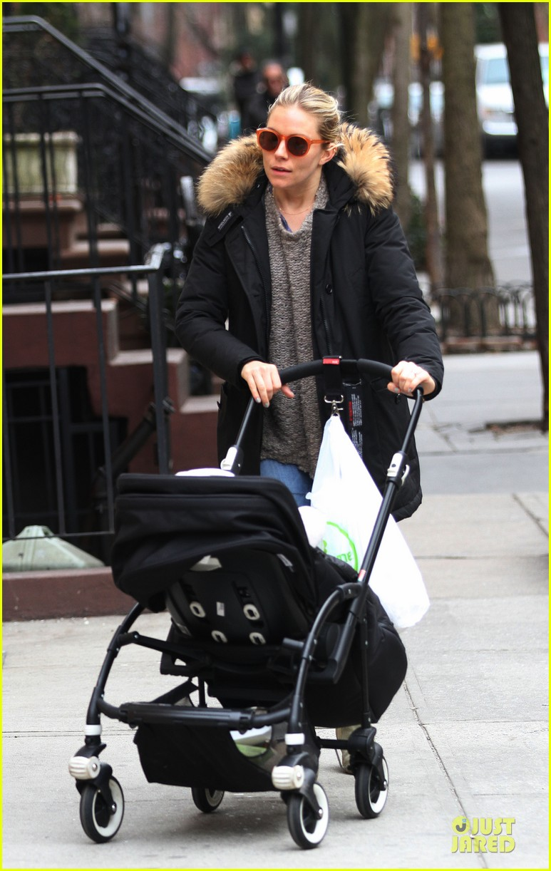 sienna miller stroller pushing with marlowe 042829736