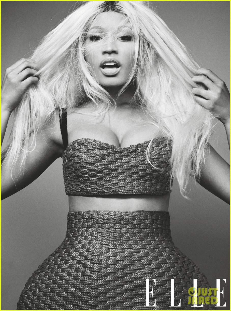 nicki minaj covers elle april 2013 042830443