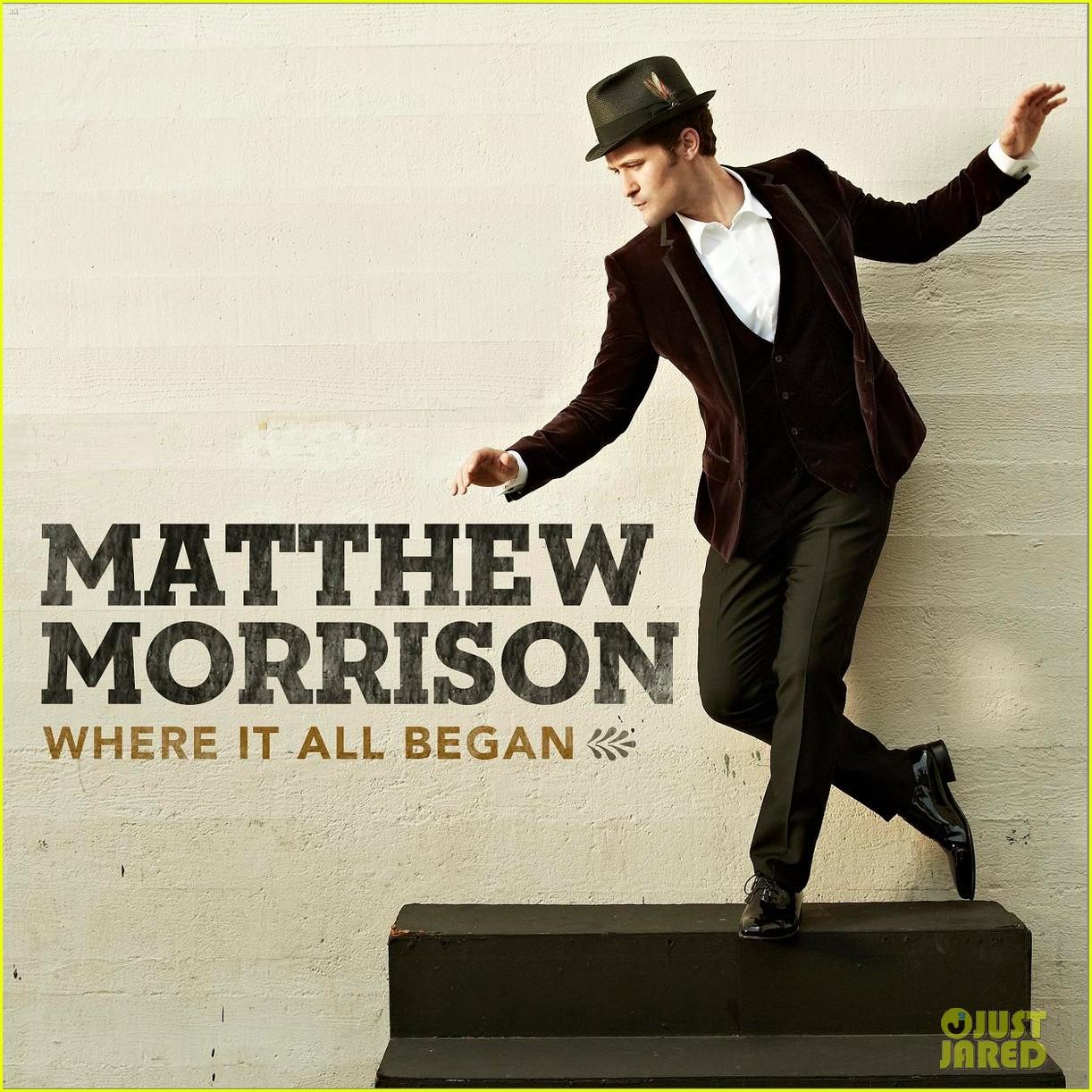 matthew morrison new album where it all began2835251