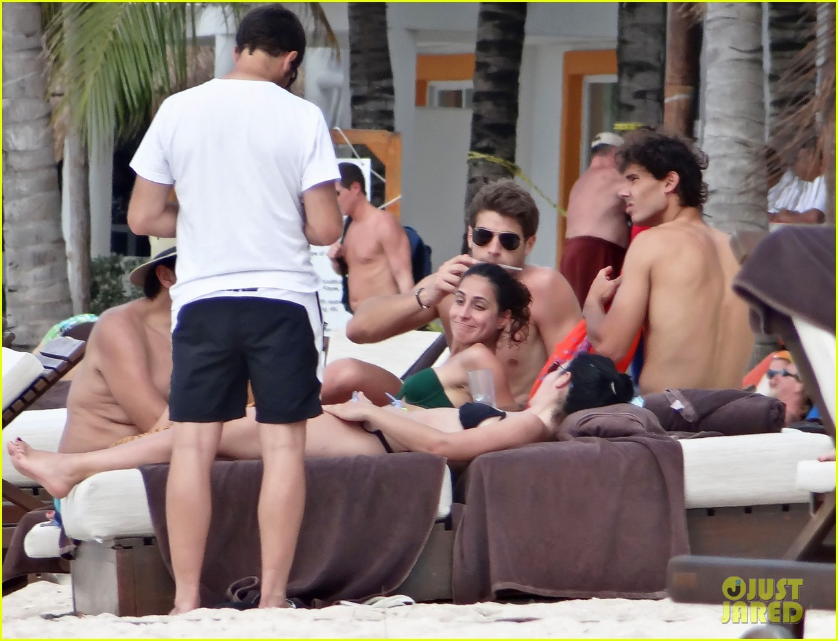 rafael nadal shirtless beach vacation with maria perrello 062826114