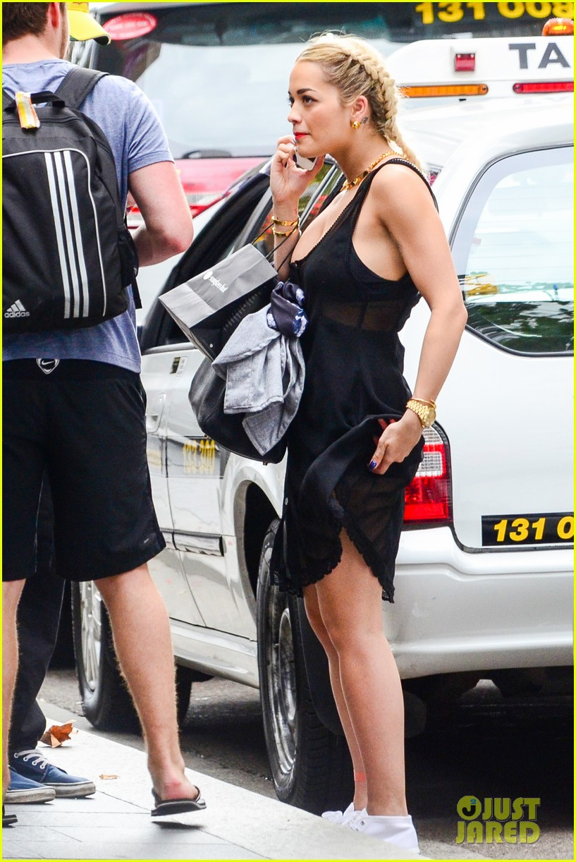 rita ora shopping in sydney 152822966