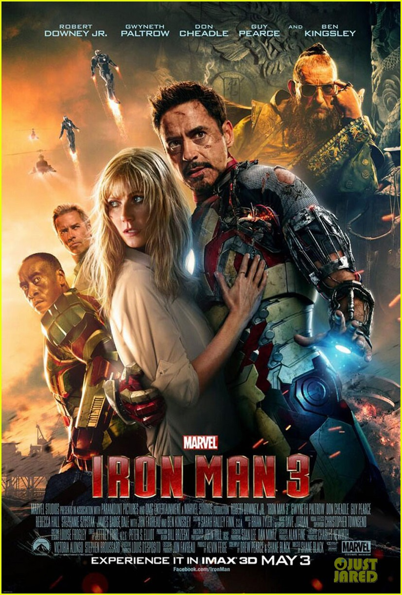 gwyneth paltrow robert downey jr iron man 3 international poster 012833974