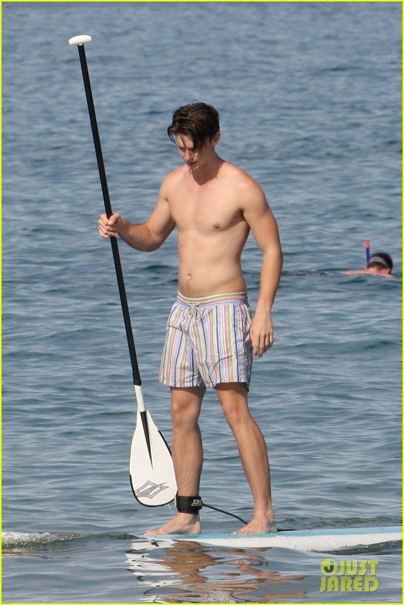 patrick schwarzenegger shirtless hawaii hottie 052839141