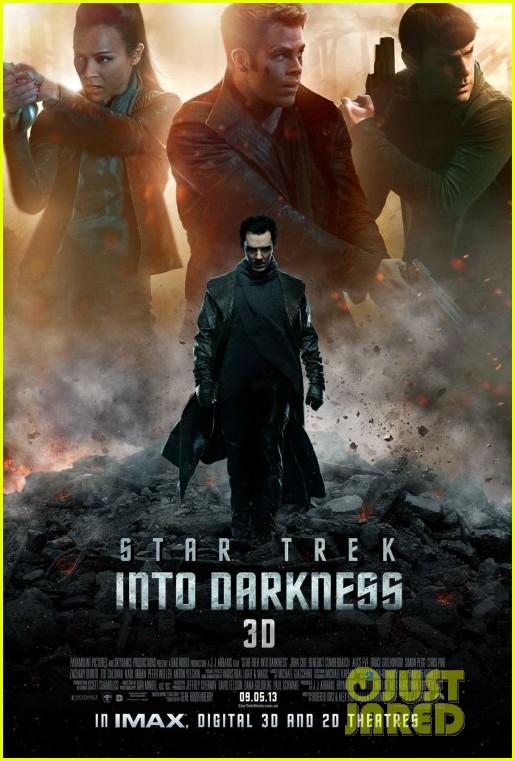 chris pine benedict cumberbatch new star trek poster trailer 012835041