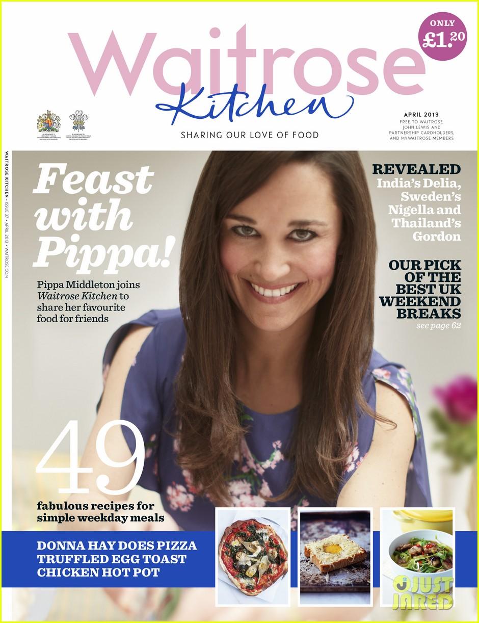 pippa middleton covers waitrose kitchen april 2013 012839283