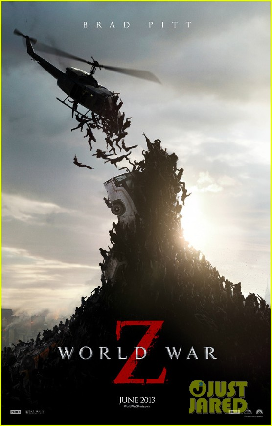 brad pitt world war z poster 012837503