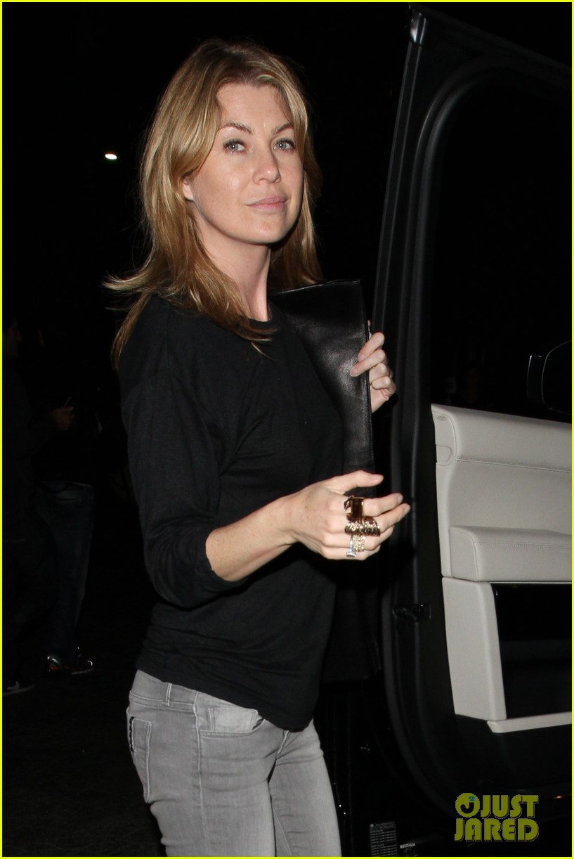 ellen pompeo chris ivery date night kisses 092830431
