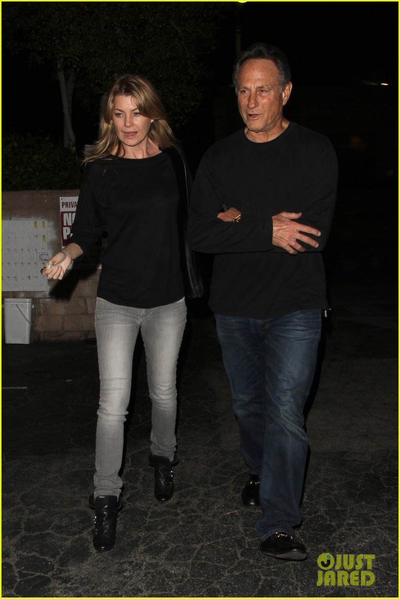 ellen pompeo chris ivery date night kisses 13