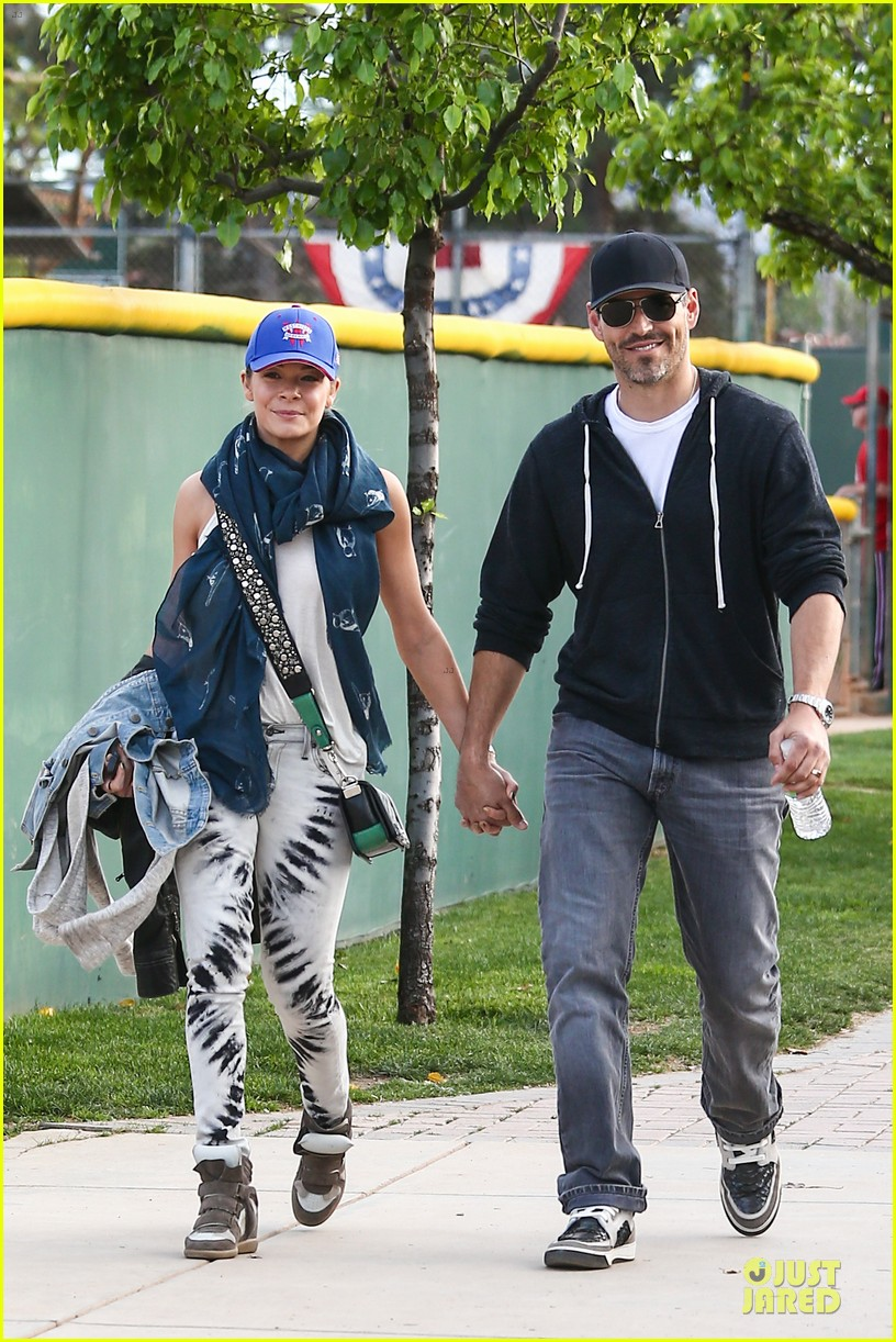leann rimes eddie cibrian jake baseball game with brandi glanville 232824638