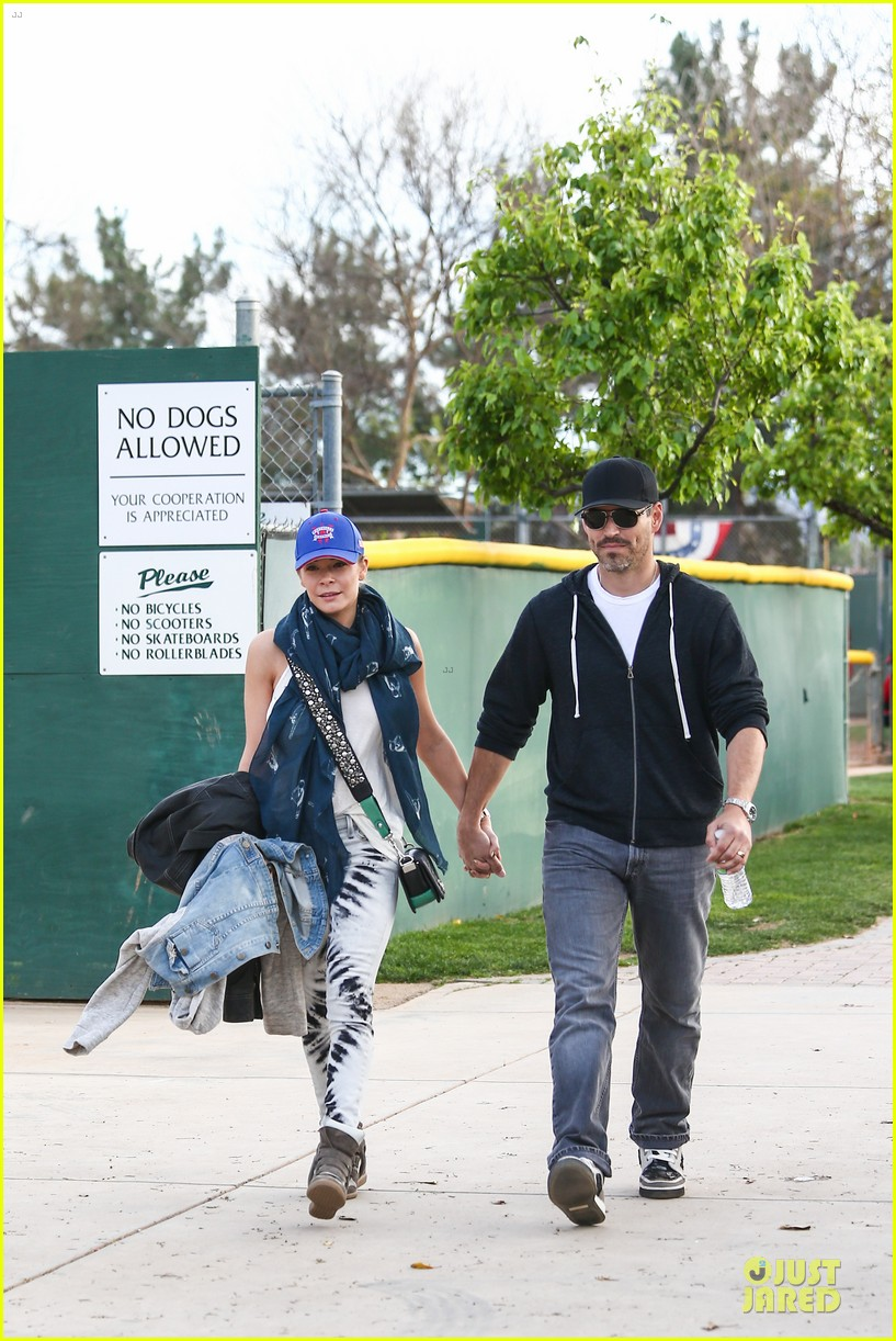 leann rimes eddie cibrian jake baseball game with brandi glanville 252824640