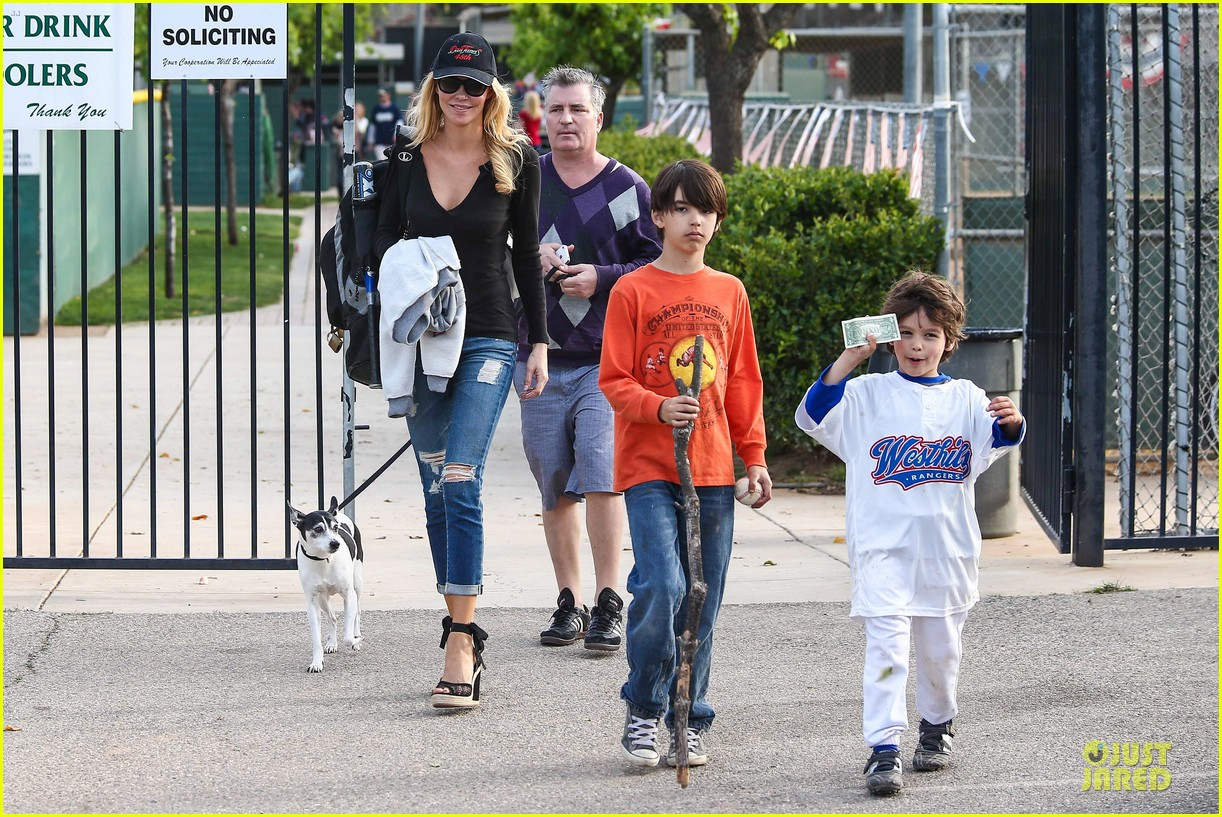 leann rimes eddie cibrian jake baseball game with brandi glanville 372824652