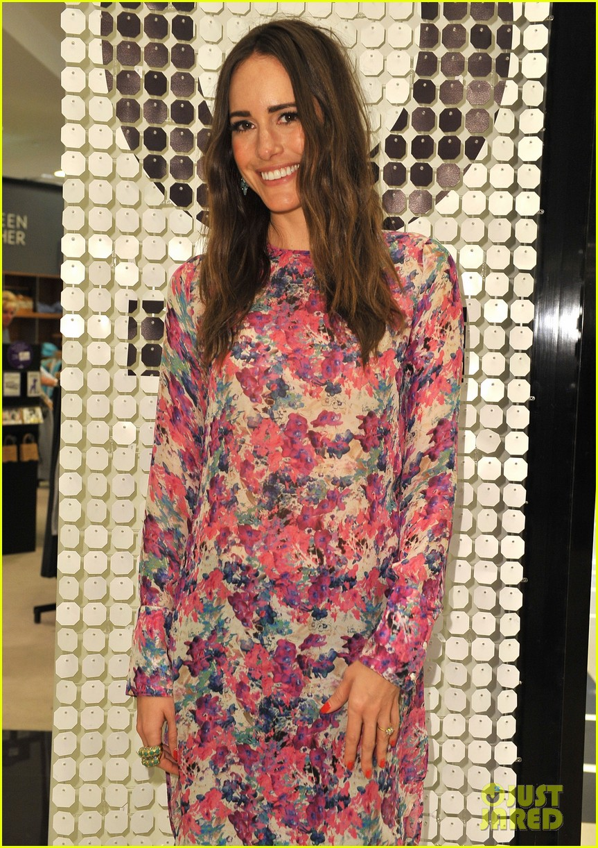 louise roe ruthie davis collection launch 112837494