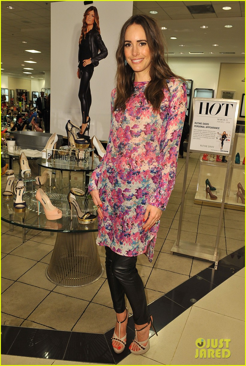 louise roe ruthie davis collection launch 162837499