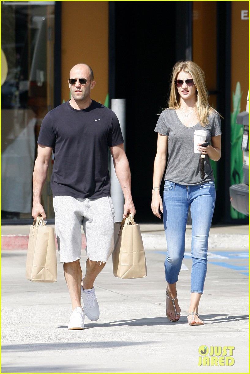 rosie huntington whiteley jason statham breakfast duo 012837603