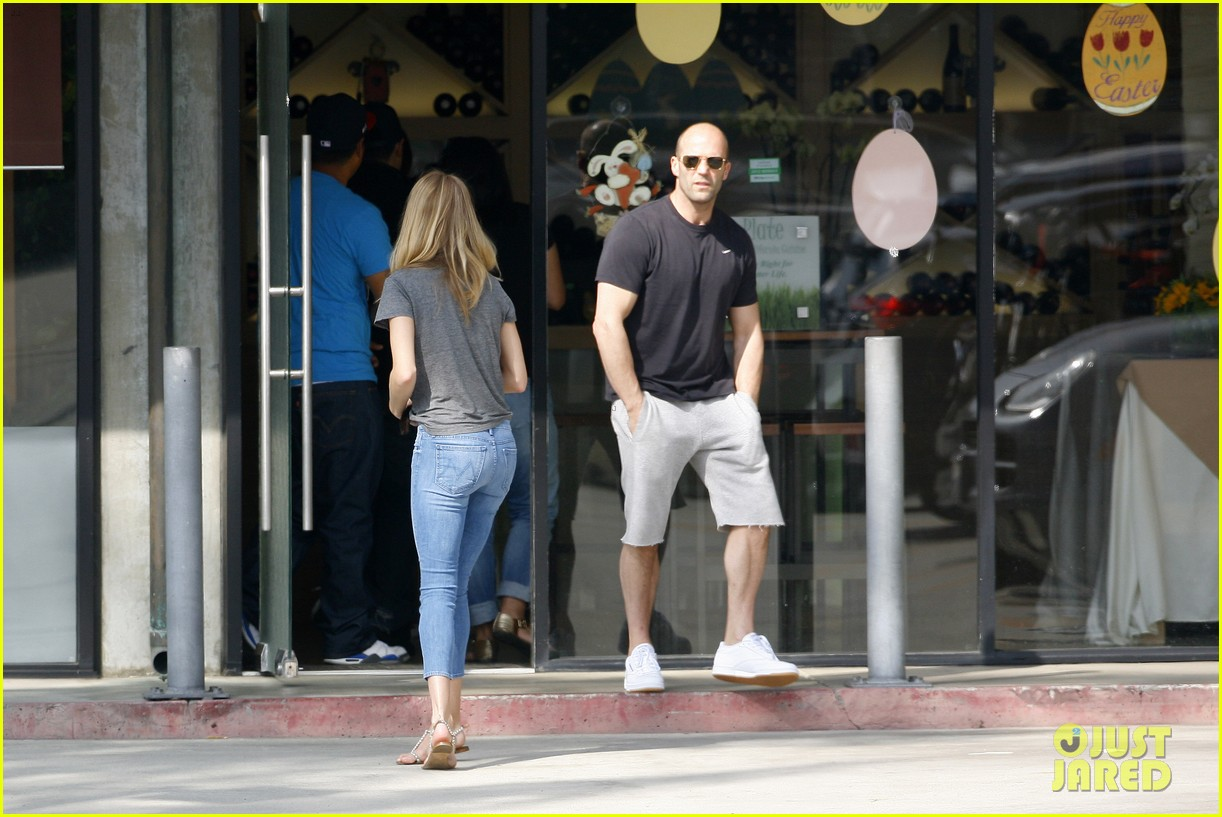 rosie huntington whiteley jason statham breakfast duo 102837612