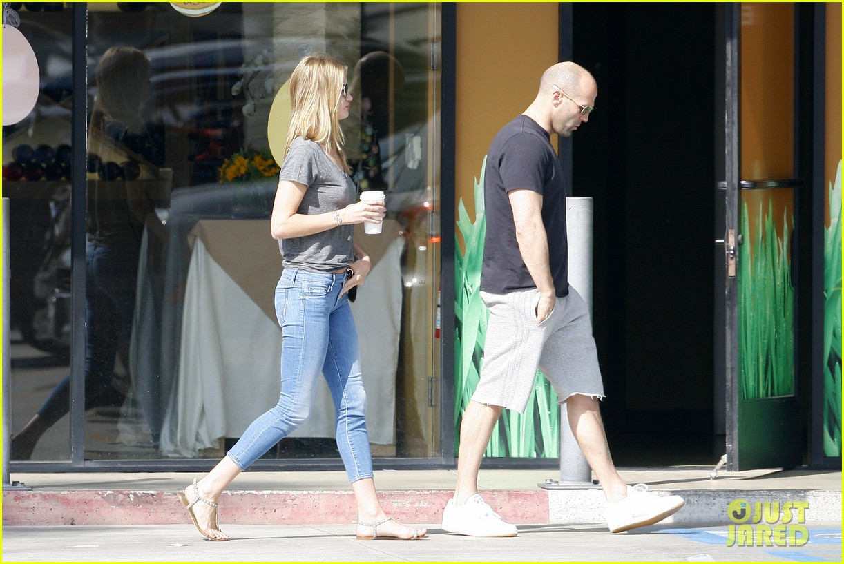 rosie huntington whiteley jason statham breakfast duo 112837613