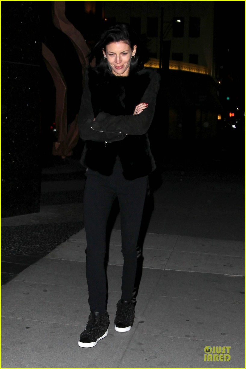 liberty ross jimmy iovine dinner date in beverly hills 022836124