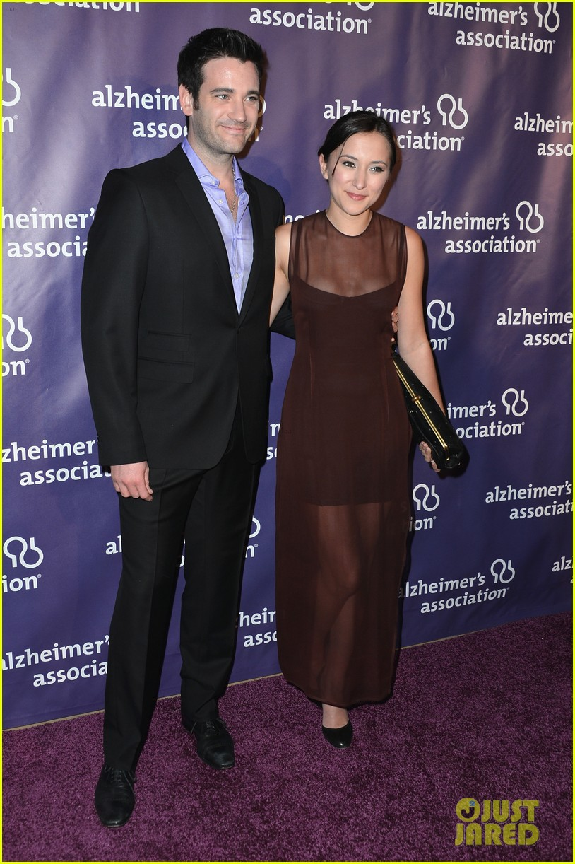 emmy rossum a night at sardis for alzheimers association 072834811
