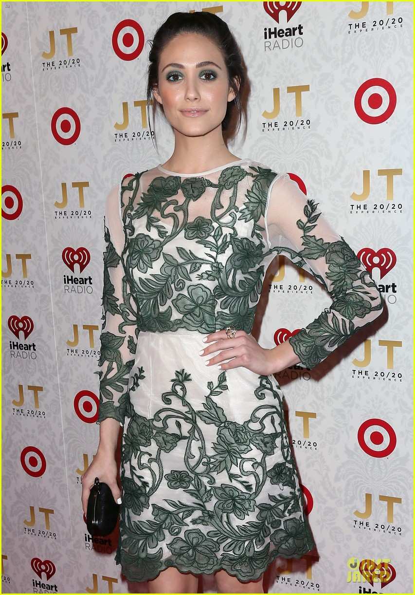 emmy rossum 20 20 experience record release party 022833113