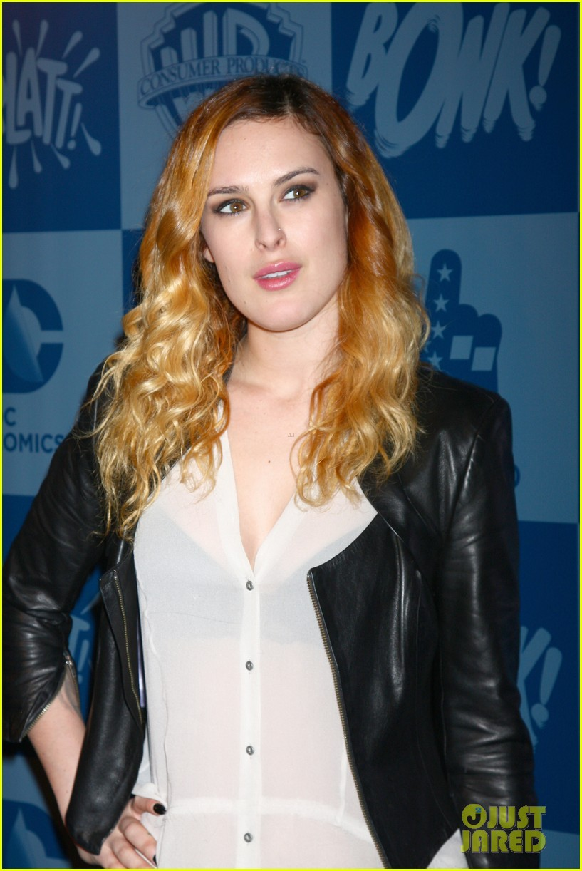 rumer willis batman product line launch 022835620