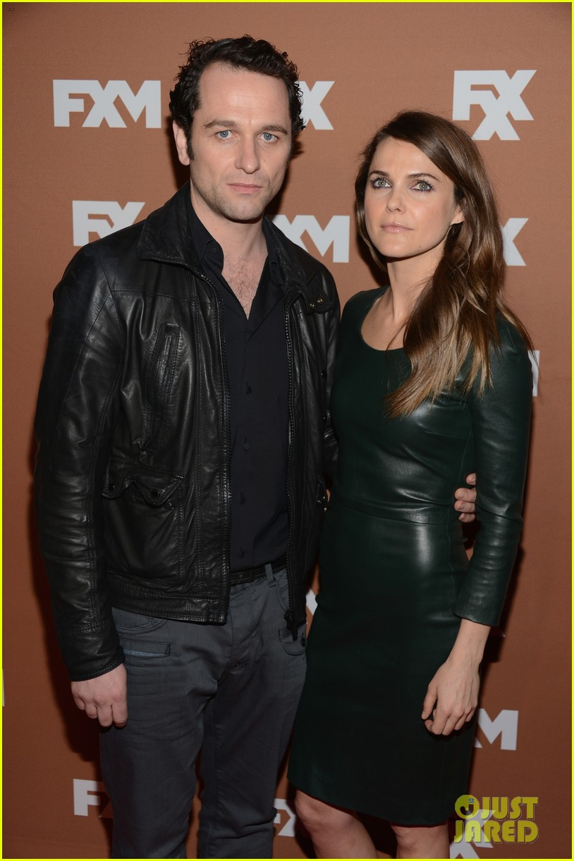 keri russell charlie hunnam fx upfront bowling event 022839533