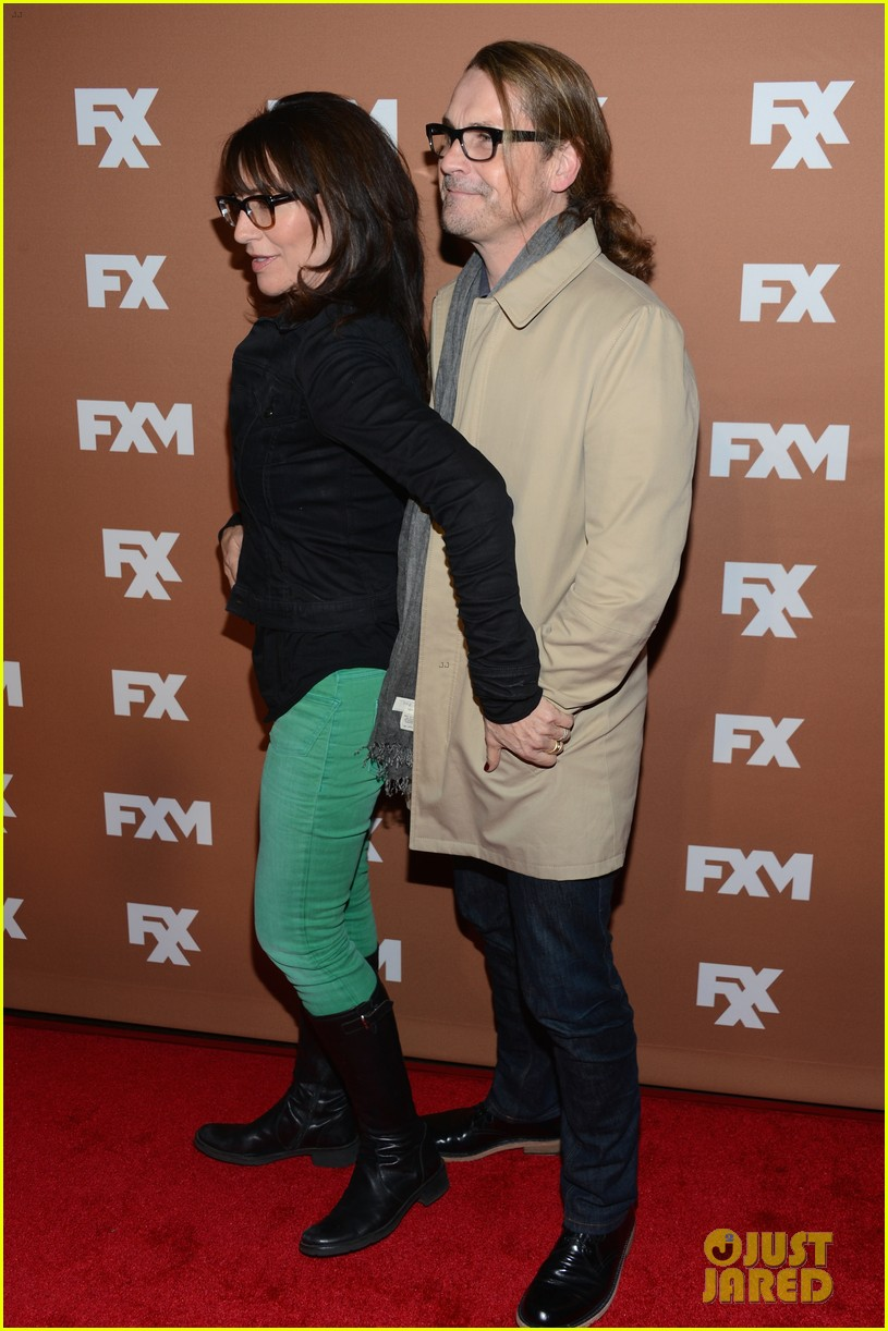 keri russell charlie hunnam fx upfront bowling event 252839556