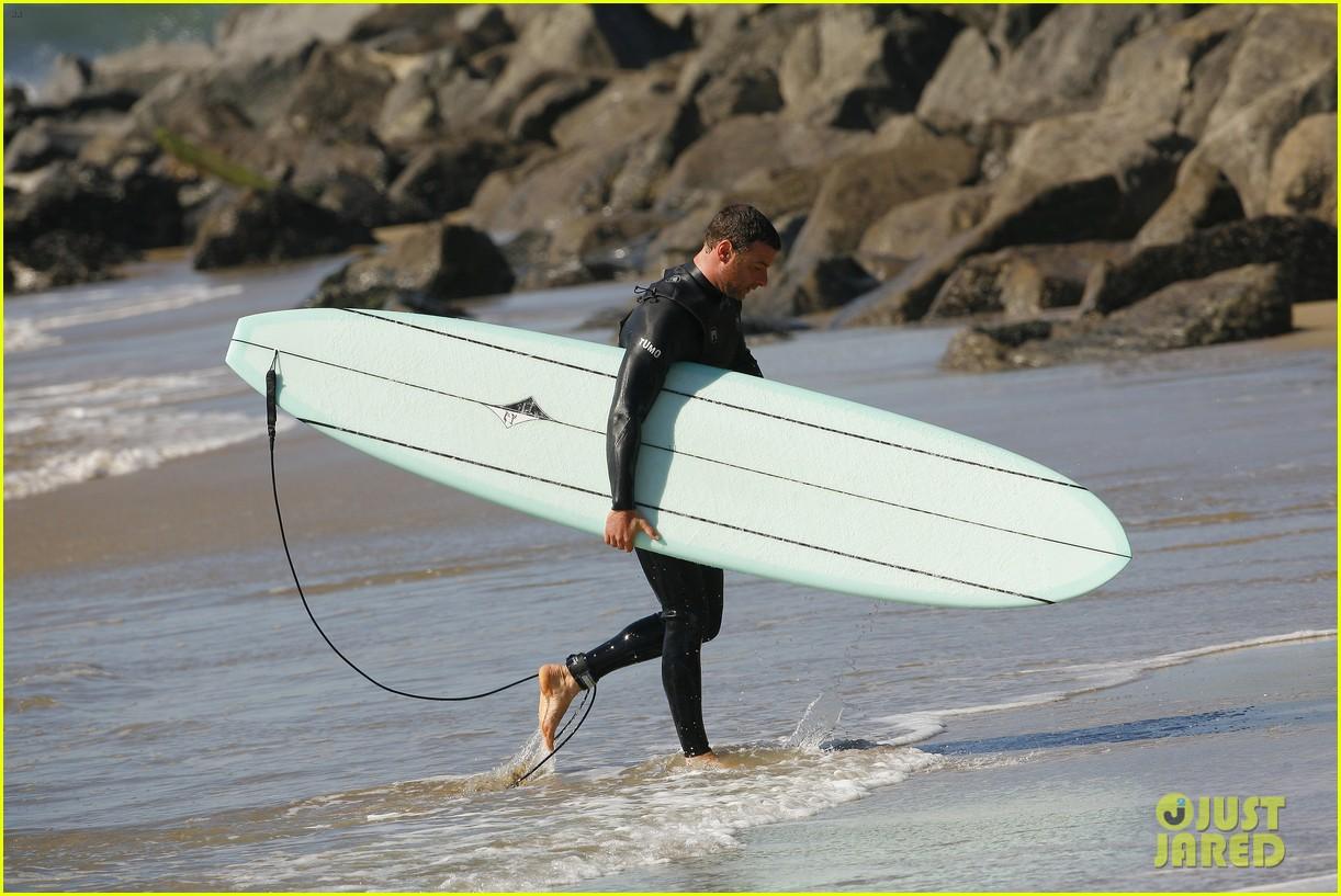 liev schreiber shirtless surfing stud 192823534
