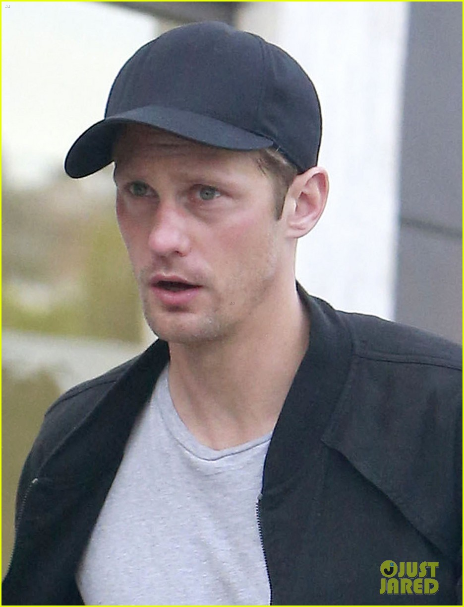 alexander skarsgard bruised eye in los angeles 112826979