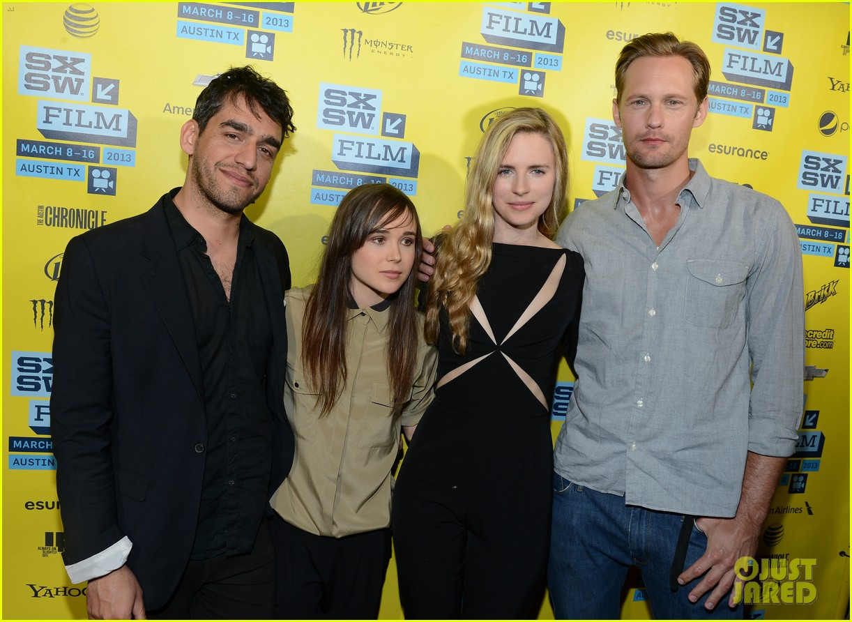 alexander skarsgard brit marling the east at sxsw 092831883