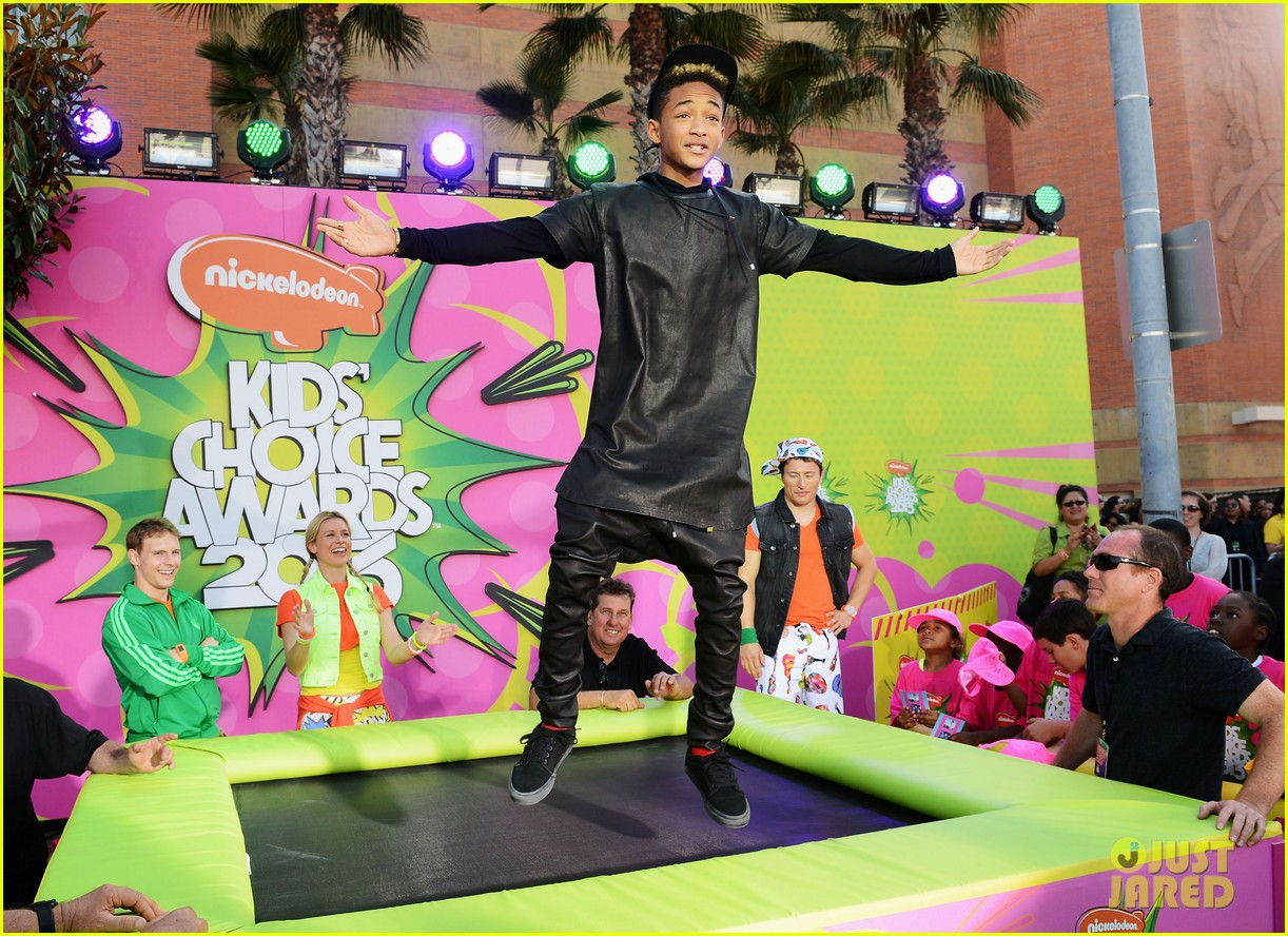 willow jaden smith kids choice awards 2013 red carpet 082836467