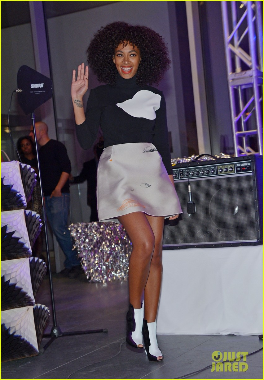 solange knowles the armory party performer 102826572