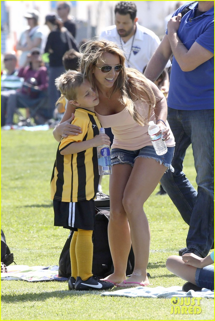 britney spears proud soccer mom 032832392