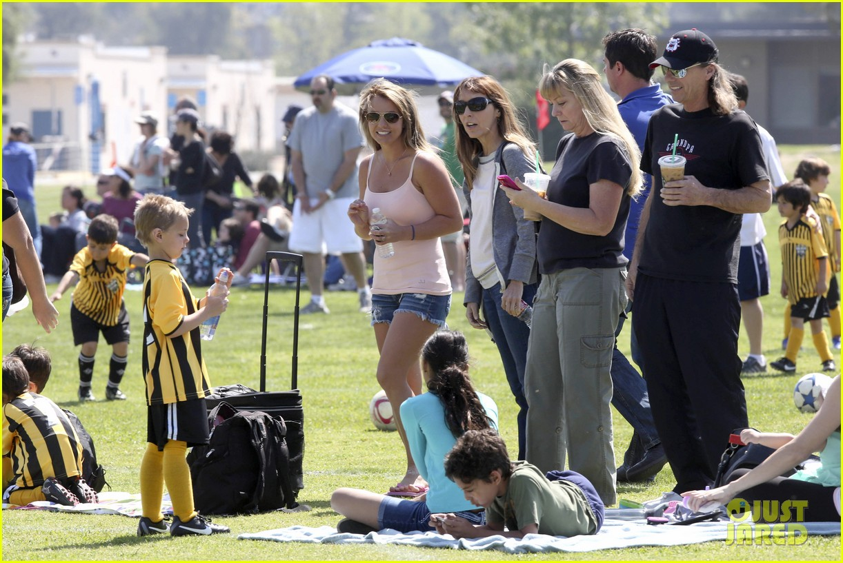 britney spears proud soccer mom 182832407