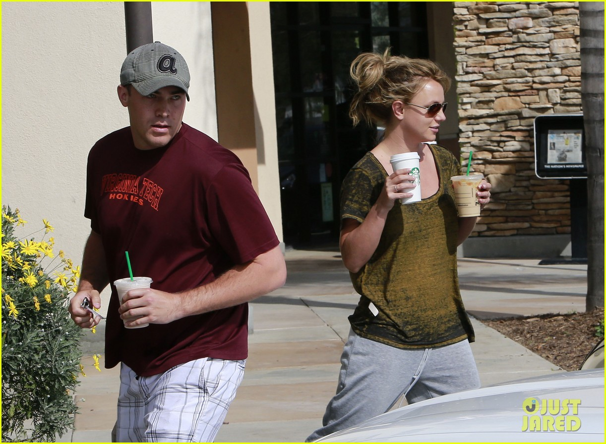 britney spears david lucado starbucks stop 11
