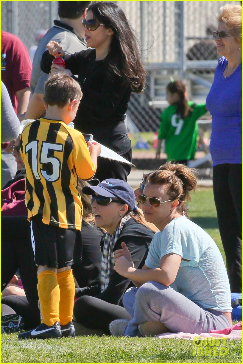 britney spears sunday soccer mom 332828500