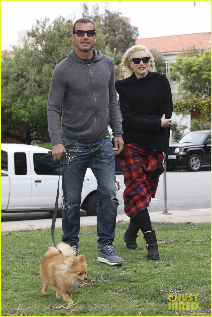 gwen stefani gavin rossdale park day with the boys 062840909