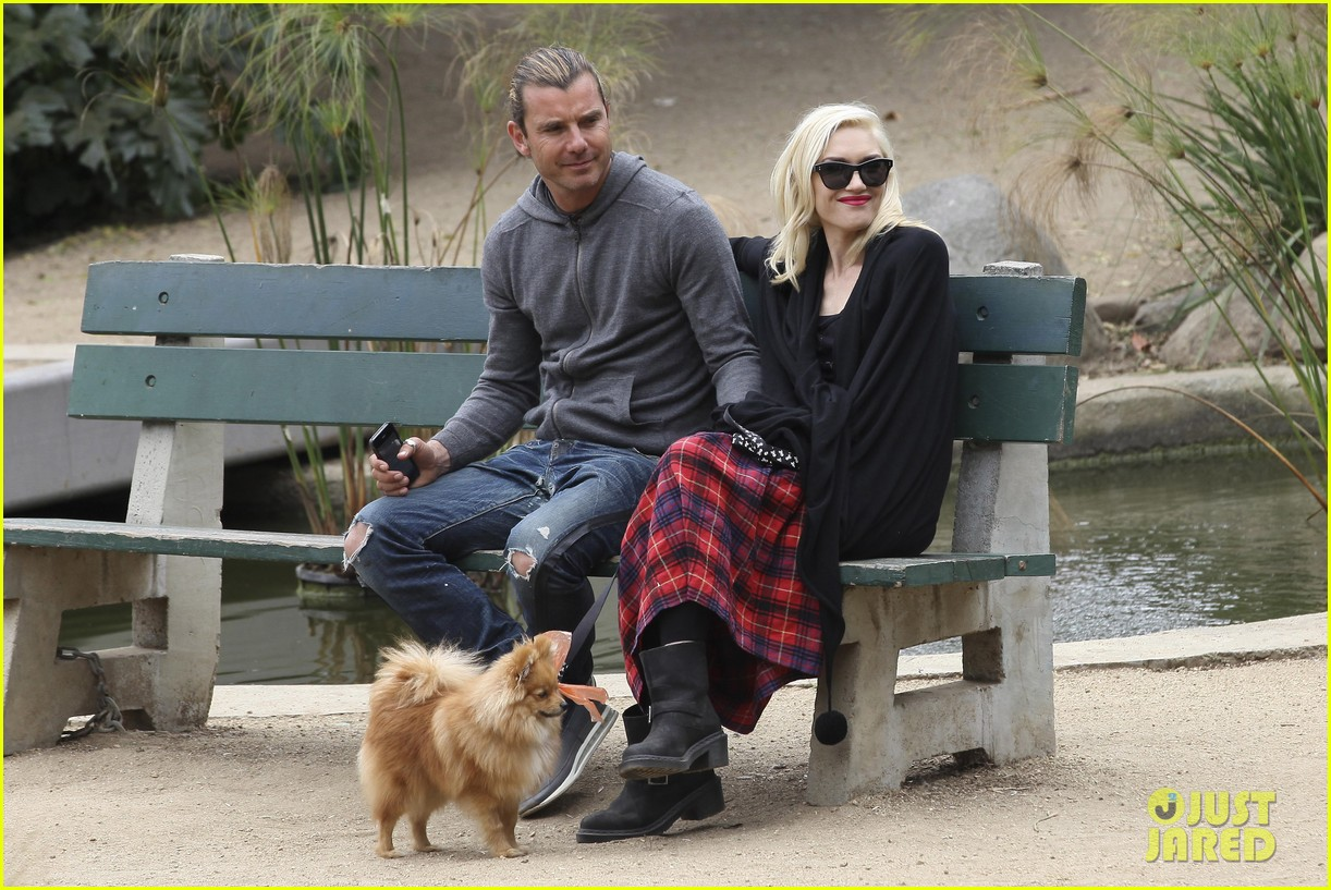 gwen stefani gavin rossdale park day with the boys 28