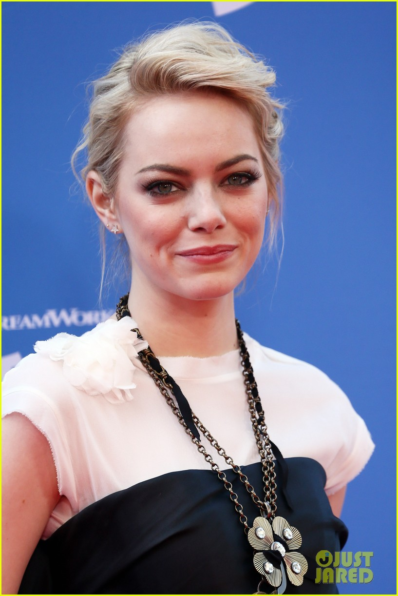 emma stone the croods premeire 022828306